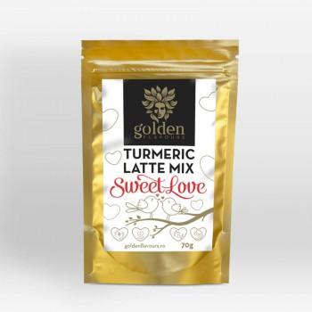 Turmeric Latte Mix Sweet Love (70 grame), Golden Flavours