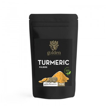 Turmeric pulbere 100% naturala (150 grame), Golden Flavours