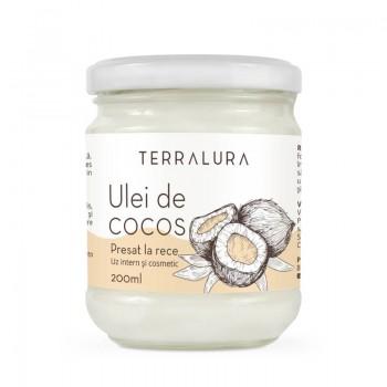 Ulei de cocos presat la rece (200 ml), Terralura