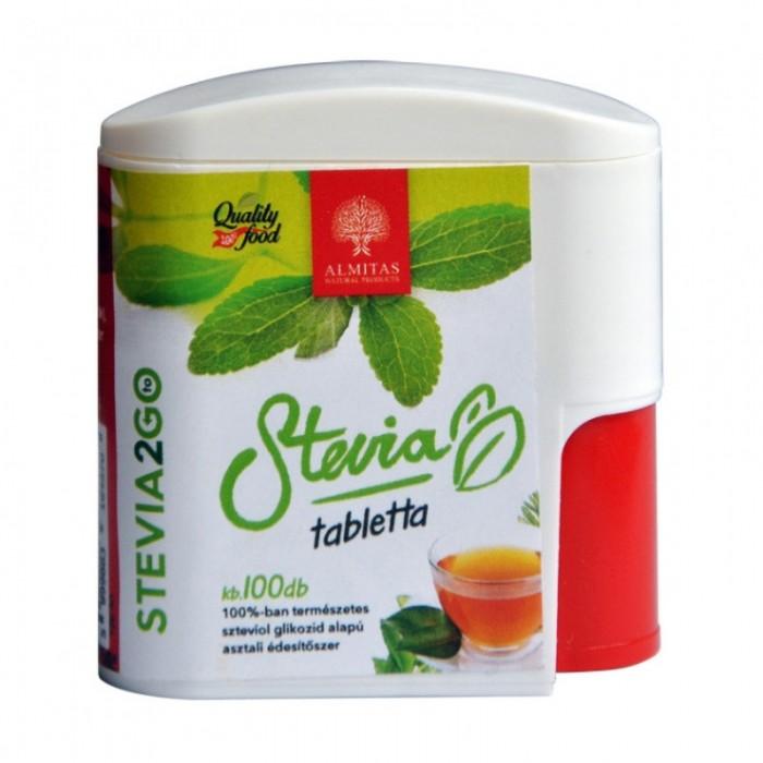 Stevia indulcitor natural (100 comprimate), Almitas Natural Product
