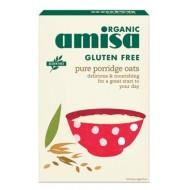 Faina de ovaz fara gluten (porridge) bio (325 grame), Amisa