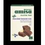 Mix pentru prajitura brownie fara gluten bio (400 grame), Amisa
