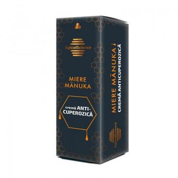 Crema anticuperozica Manuka (50 ml), ApicolScience