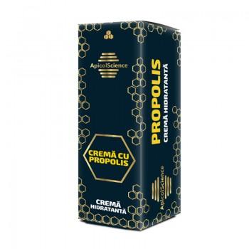 Crema hidratanta cu propolis (50 ml), ApicolScience