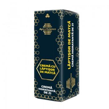 Crema hidratanta de zi cu laptisor de matca (50 ml), ApicolScience