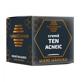 Crema Manuka ten acneic (50 ml), ApicolScience