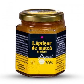 Laptisor de matca in miere 30% (200 ml), ApicolScience