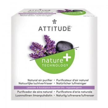 Purificator de aer, cu uleiuri esentiale din eucalipt si lavanda (227 grame), Attitude