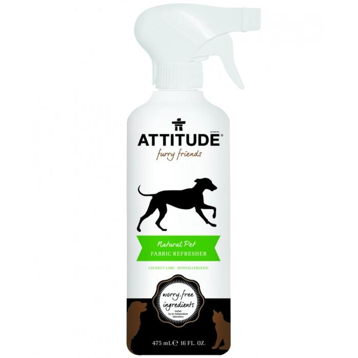 Soluție 100% naturală pentru reîmprospătarea textilelor (475 ml), Attitude