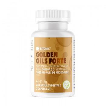 Golden Oils Forte (60 capsule), B!tonic