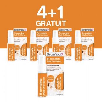 B-Complete Oral Spray (25ml), BetterYou 4+1 Gratuit