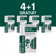 Iron 10 Oral Spray (25ml), BetterYou 4+1 Gratuit