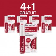 Iron Oral Spray (25ml), BetterYou 4+1 Gratuit