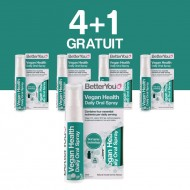 Vegan Health Oral Spray (25ml), BetterYou 4+1 Gratuit