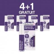 Vitamin K2 Oral Spray (25ml), BetterYou 4+1 Gratuit