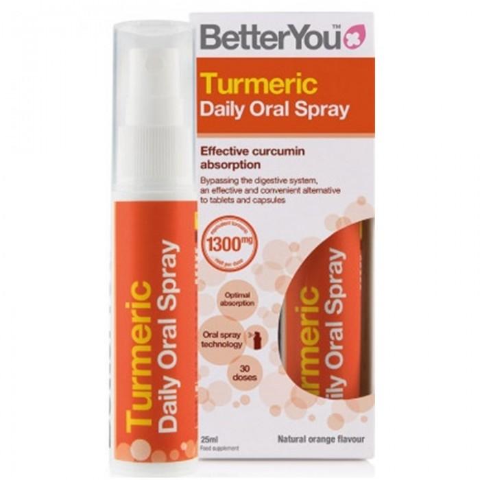 Turmeric Oral Spray (25ml), BetterYou