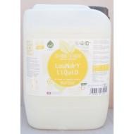 Detergent ecologic lichid pentru rufe albe si colorate cu portocale (5 litri), Biolu