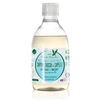 Gel de dus / sampon ecologic cu provitamina B5, Biolu (300 ml)
