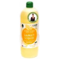 Detergent ecologic lichid pentru rufe albe si colorate cu portocale (1 litru), Biolu
