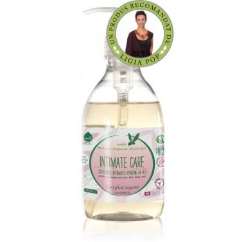 Gel ecologic  pentru igiena intima cu tea tree si eucalipt (300 ml), Biolu