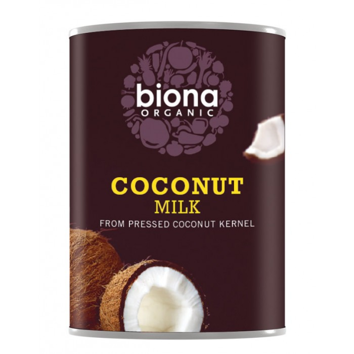 Lapte de cocos bio (400 ml), Biona