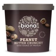 Unt de arahide crunchy bio (1 kg), Biona