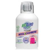 Detergent hipoalergen pentru lana, matase, angora si casmir bio (500 ml), Biopuro