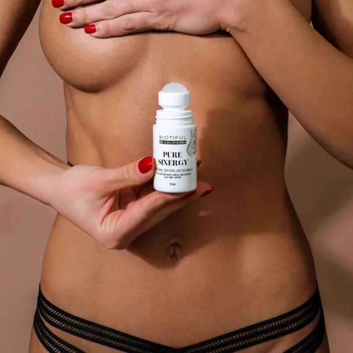 Pure Sinergy Deodorant nontoxic (50 ml), Biotiful