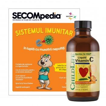 Vitamin C copii 250mg (118.5ml), ChildLife Essentials