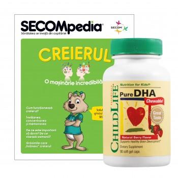 Pure DHA (90 tablete), ChildLife Essentials