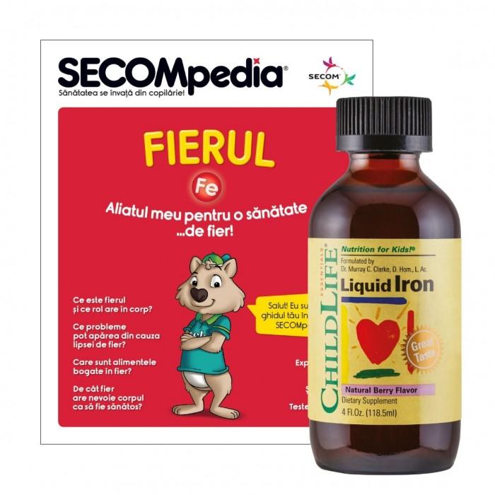 Liquid Iron 10 mg (118,5 ml), ChildLife Essentials