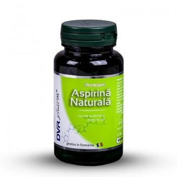 Aspirina naturala (60 capsule), DVR Pharm