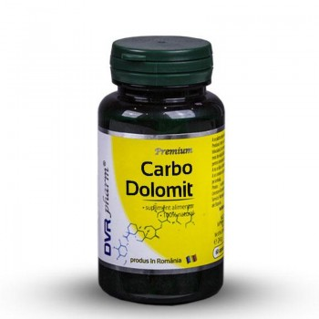 Carbo Dolomit (60 capsule), DVR Pharm