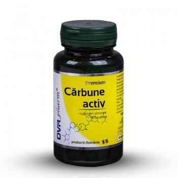 Carbune activ (60 capsule), DVR Pharm