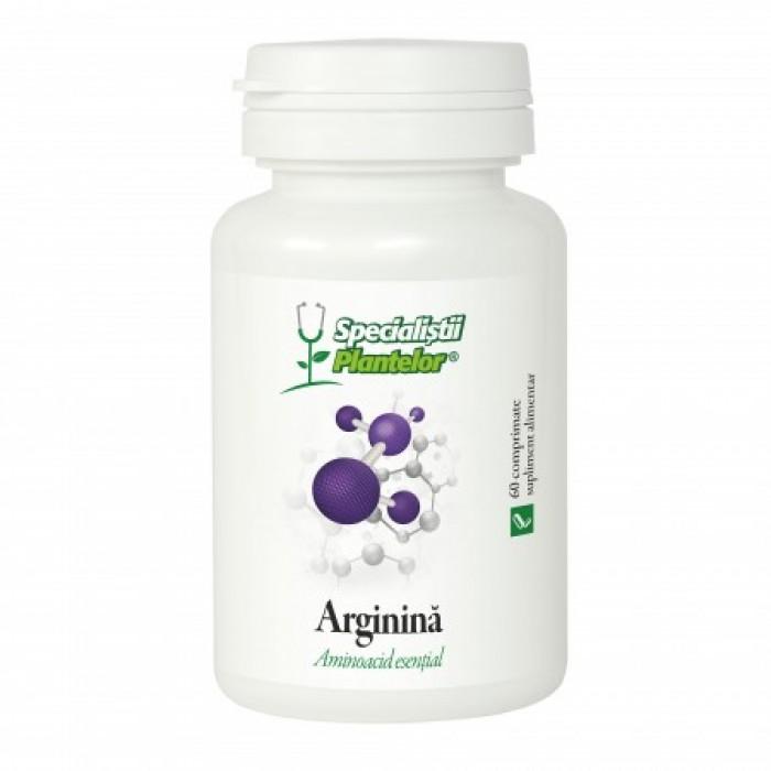 Specialistul plantelor Arginina (60 comprimate), Dacia Plant