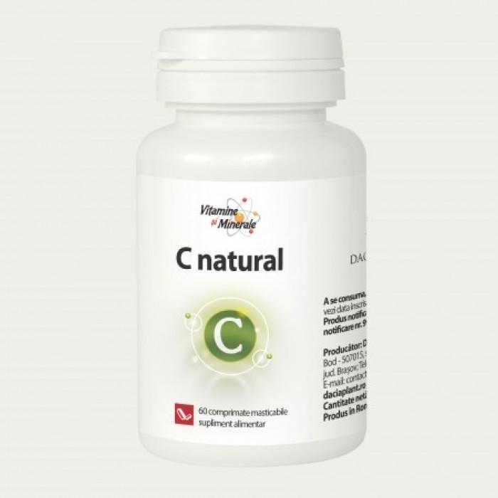C Natural (60 comprimate), Dacia Plant