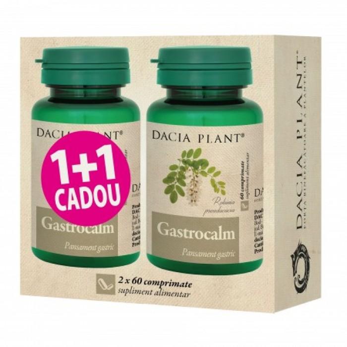 Promo Gastrocalm (60 comprimate) 1+1 Gratuit, Dacia Plant