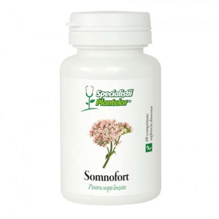 Specialistii Plantelor Somnofort  (60comprimate), Dacia Plant