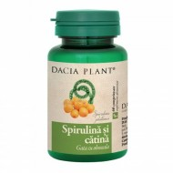 Spirulina cu catina (60 comprimate), Dacia Plant