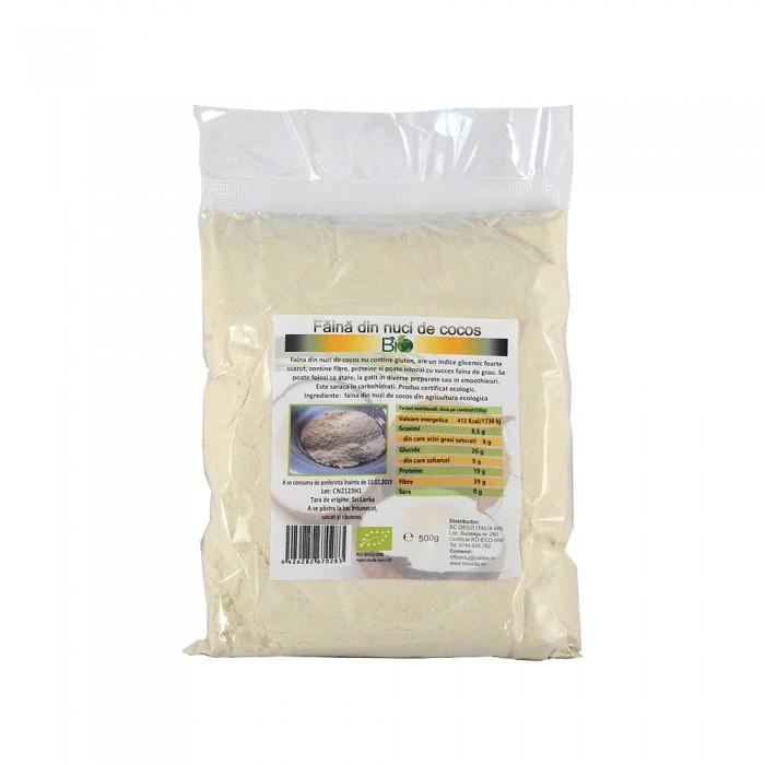 Faina nuci de cocos (500 grame)