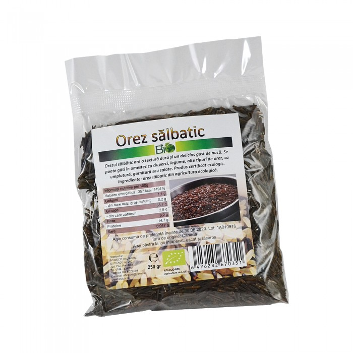 Orez salbatic (250 grame)