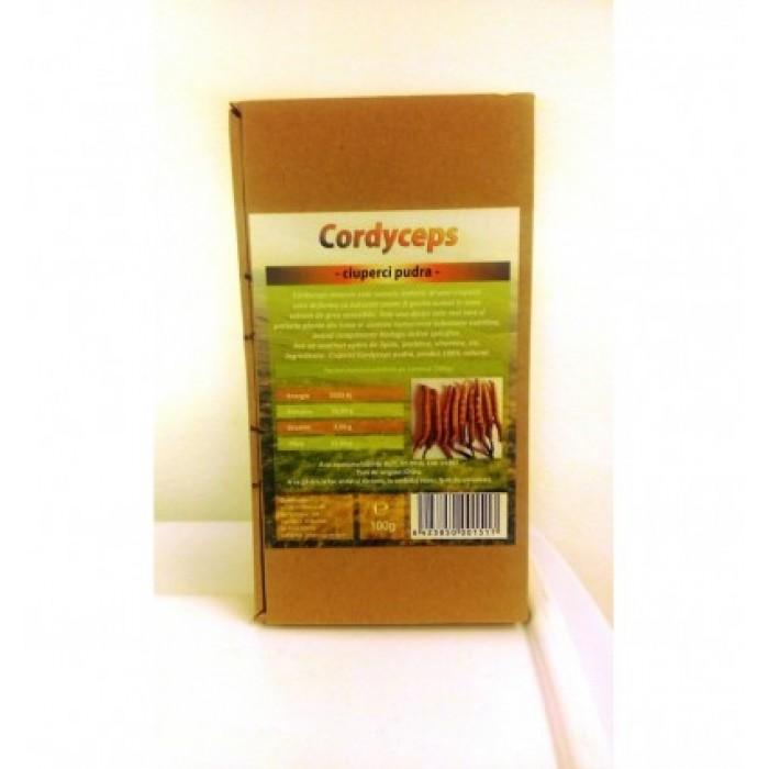 Ciuperci Cordyceps pudra (100 grame)