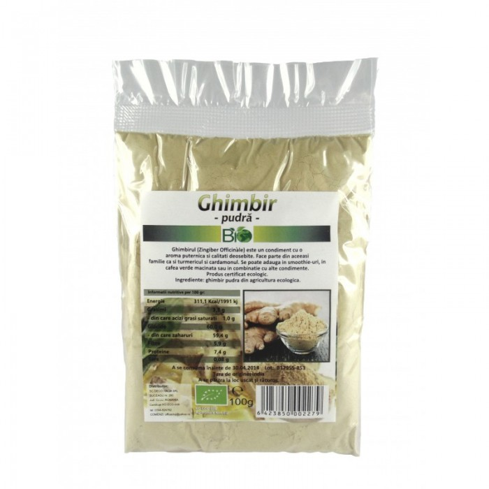Ghimbir pudra (100 grame)