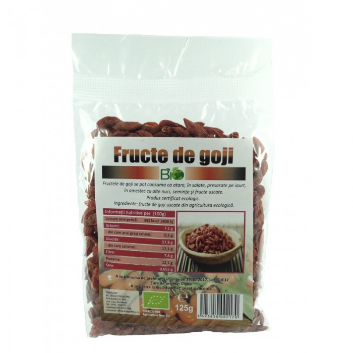 Goji berry premium extra (125 grame)