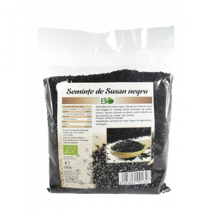Seminte de susan negru bio (250 grame)