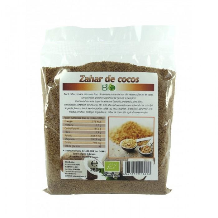 Zahar din nectar de flori de cocos (500 grame)