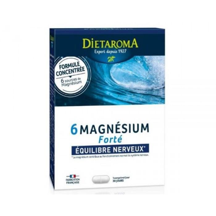 6 Magneziu Forte ( 2 blistere x 15 cmp), Dietaroma