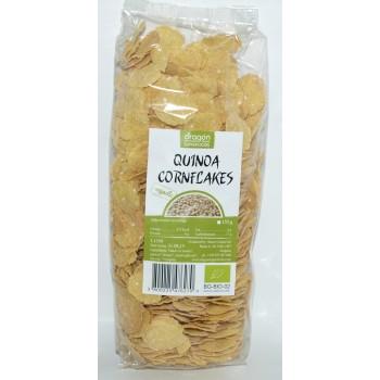 Fulgi de porumb cu quinoa bio (150 grame), Dragon Superfoods