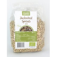 Hrisca germinata si uscata raw bio (200 grame), Dragon Superfoods
