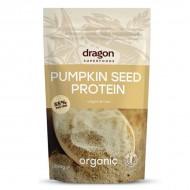 Pudra proteica din seminte de dovleac raw eco (200 grame), Dragon Superfoods
